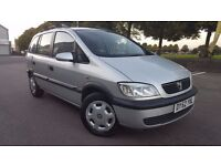 ZAFIRA 2002 ,7 SEATS , ONLY 73K MILES , LADY OWNER FROM 2003