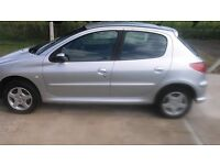PEUGEOT 206 SPORT,NOW REDUCED TO £850 BARGAIN... MOT TILL JULY 2018 IN GOOD CONDITION.