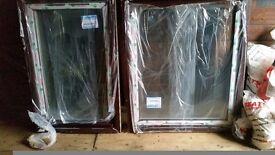 2 brand new windows