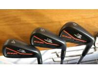 Cobra MB/CB Forged Irons 4-PW, Project X 6.0 Stiff Shafts AS NEW CONDITION!