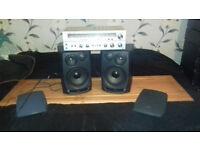Speakers+Vintage Amplifier