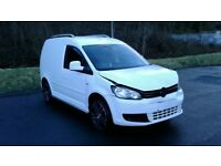 VOLKSWAGEN CADDY C20 PLUS 1.6 TDI 2011 DAMAGED MODIFIED GTD