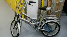 2 fold up bicycles (pick up only )