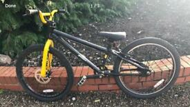 Youths BMX Raleigh, front disc brake, excellent condition, very durable, black & yellow