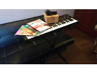 Keyboard with stand and accessories £70 ono