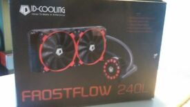 Frostflow 240L All in one CPU water cooling system (NEW - OPENED BOX) REDUCED