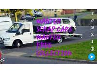 Scrap cars wanted £120+ BIG CARS