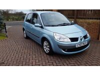 Immaculate condition Renault Scenic 1.6 Dynamique VVT 65,000 miles.