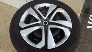 4 used Toyo Observe GSi5 Winter Tires on Steel Wheels Prince George British Columbia Preview