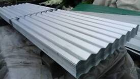 Roofing sheets corrugated 8ft x 2ft cover free delivery