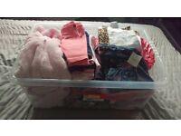 Massive bundle of baby girl clothes