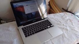 "Apple MacBook Pro ""Core 2 Duo"" 2.26 13"" / 4GB RAM / 320GB HDD / El Capitan"