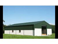 WANTED YARD WITH GARAGE BARN SHED STORE STORAGE TO RENT or sell BALLYMENA FARM HOUSE