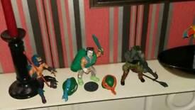 Vintage action figures