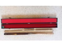 Snooker/pool cue and case