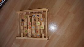 Excellent condition wooden baby toys