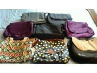 Selection of pram, pushchair, buggy, stroller changing, nappy bags