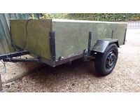 6x4 Trailer new tyres good condition light board,spare wheel included
