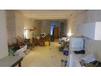 1200sq ft Work/Live space on Hackney/Islington border.