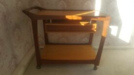 Lovely wooden trolley/drinks trolley for sale!