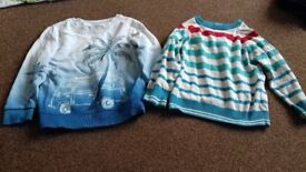 Lovely quality and condition jumpers and cardi 2-3 year old