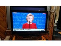 32 Alba LCD32880HDF HD Ready Digital Freeview LCD TV vga 1 hdmi comes with remote control