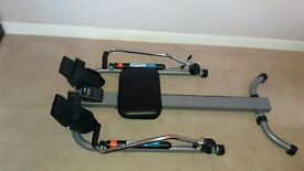 Pro fitness Dual Hydralic Rowing Machine