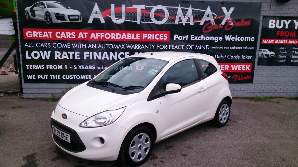 Ford Ka   Style White New Mot New Service And T Belt