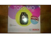 Brand new, sealed Tassimo hot drinks machine