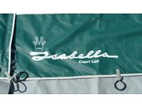 Isabella Awning Capri Lux 900cm in very good condition with fiberglass poles.