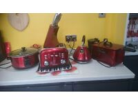 Morphy richards red appliances
