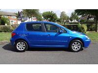 Peugeot 307 1.6 16v S 5dr (a/c) ***LOW MILEAGE*** 2003 (03 reg), Hatchback