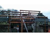Traditional timber frame builders, oak and softwood