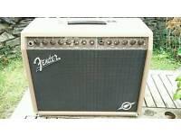 Fender Acoustasonic 100 watt combo acoustic guitar amplifier