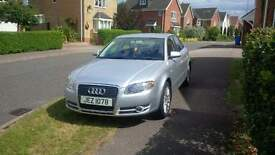 Low mileage, clean Audi A4 in and out and well looked after.