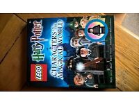 LEGO BOOK Harry Potter Characters of the Magical World Limited minifigure