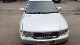 Audi A4 1,9 TDI for sale or swap to van or motorbike