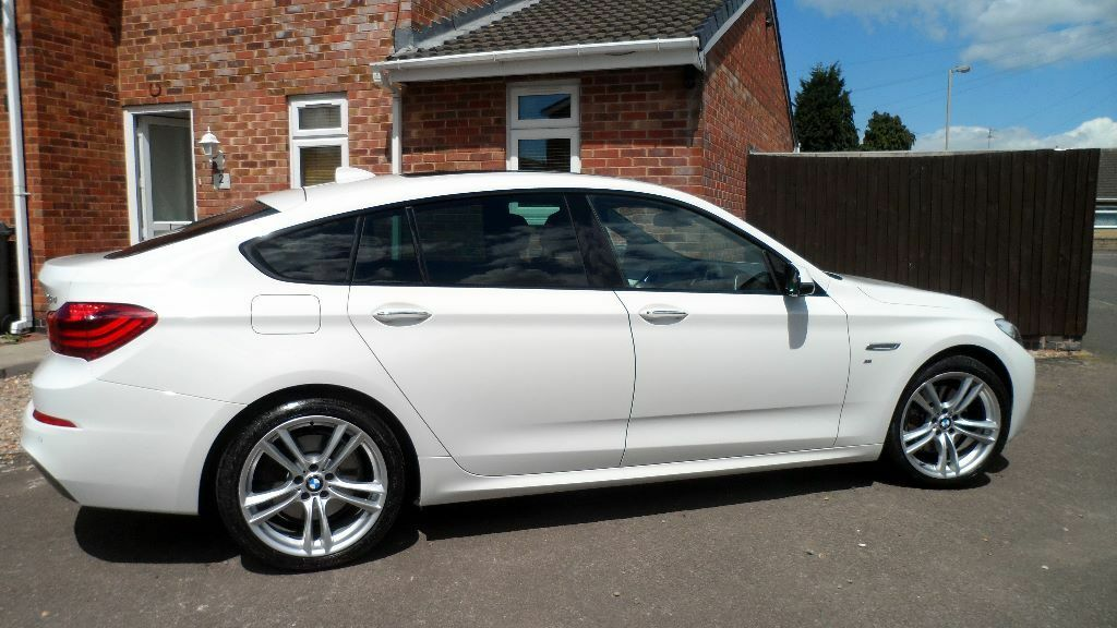 bmw 530d m sport gt auto alpine white 2014 5 year servicing included in leicester. Black Bedroom Furniture Sets. Home Design Ideas