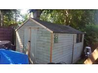 8x12ft garden shed workshop