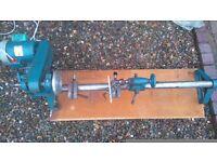 coronet major lathe wood turning tool stable saw hobbies