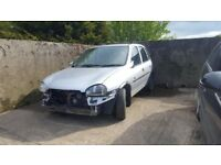 Opel And Vauxhall Corsa B`s Plus Some Corsa C Bits Too & Astra G`s Breaking For Parts Only