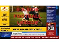 Rotherham 6 a side football league with Soccersixes - FREE TO JOIN!