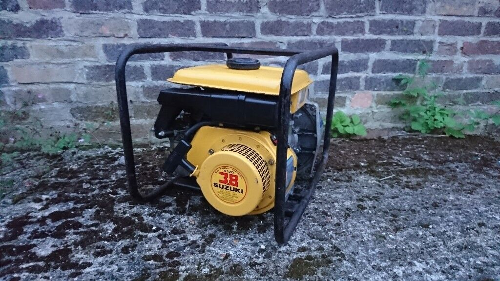 Suzuki 3 8hp Petrol Engine With Vp20 Water Pump In Christchurch Dorset Gumtree