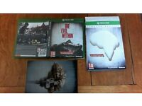 xbox one game The Evil Within Limited Edition