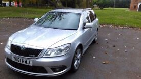 Skoda Octavia 2.0 TDI CR vRS 5dr - Great Condition - with good perfomance