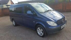 2006 Mercedes-Benz Vito 111 Cdi Long Mini bus in immaculate condition