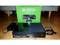 Xbox one 500gb with box
