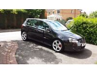 VW Golf GTI DSG - Black, 5 door, FULLY LOADED, 13 months MOT, just serviced!
