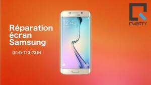 Réparation SAMSUNG S3-S4-S5-S6-S7 -remplacement d'un écran Original 100% Laval 514-713-7264 Garantie