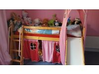 Kids Cabin Bed (with shute)